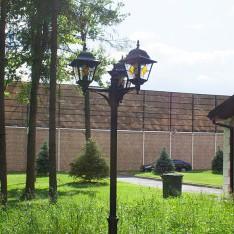 Ретро-фонари в поселке Елочка